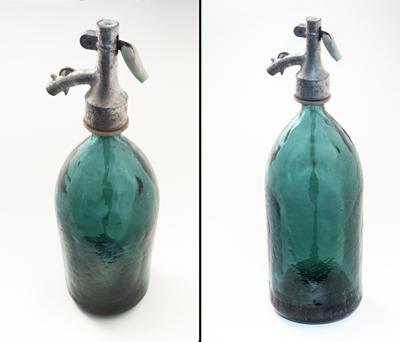 Produktfotografie - Perspektive Flaschen